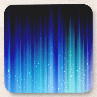 Cold Fire Abstract Coaster