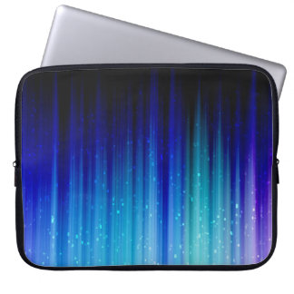 Cold Fire Abstract Computer Sleeve
