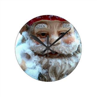 Cold Gnome Round Clock