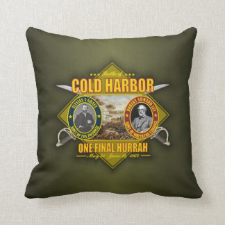 Cold Harbor Throw Pillow