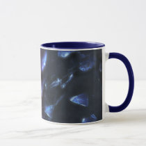glass, ice, colors, cold, hot, red, blue, textures, organic, structure, weird, modern, abstract, houk, art, artwork, digital art, digital, graphic, eerie, background, mug, mugs, cool mugs, graphic art, Mug with custom graphic design