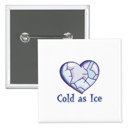 cold ice heart button