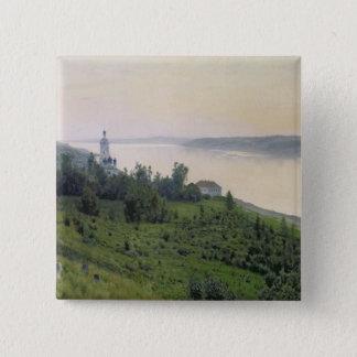 Cold Landscape, 1889 Pinback Button