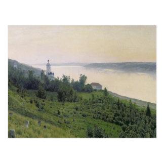 Cold Landscape, 1889 Postcard
