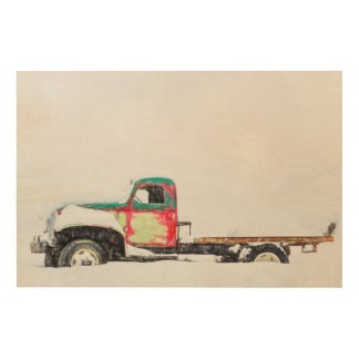 Cold Load Pickup Wood Wall Art