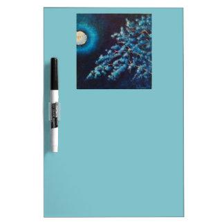 Cold Moon Dry Erase Board