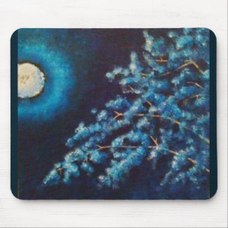 Cold Moon Mouse Pads