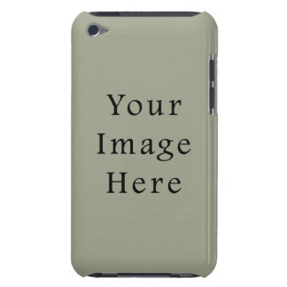 Cold Moss Green Color Trend Blank Template iPod Touch Case