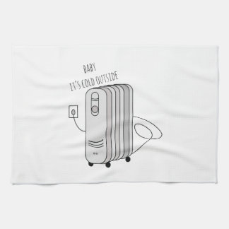 Cold Outside Kitchen Towels