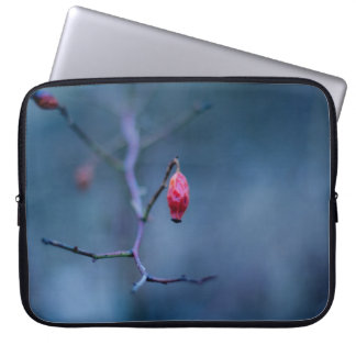 Cold rose laptop sleeve