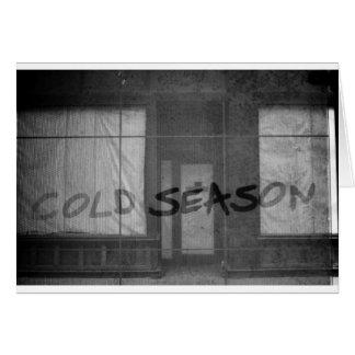 cold season greeting card