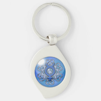 Cold Shoulder Orb Keychain