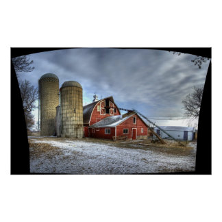 Cold Spring Barn, Uncropped Print