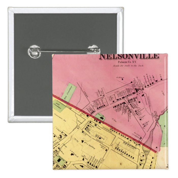 Cold Spring, Nelsonville Button