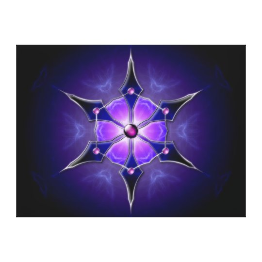 Cold Starlight Canvas Print