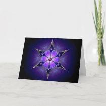 Cold Starlight Christmas Card