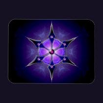 Cold Starlight Flexible Magnet
