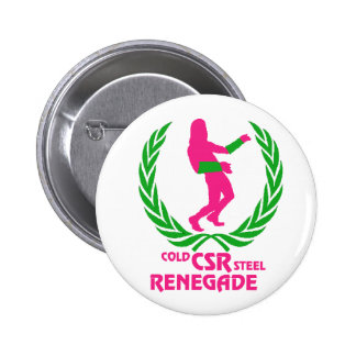 Cold Steel Renegade 2 Inch Round Button