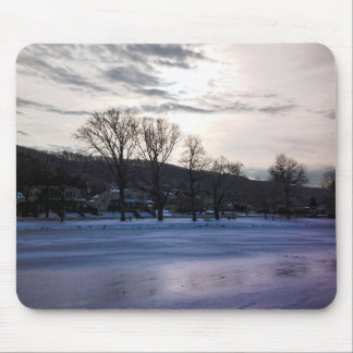 Cold Sun Mouse Pads