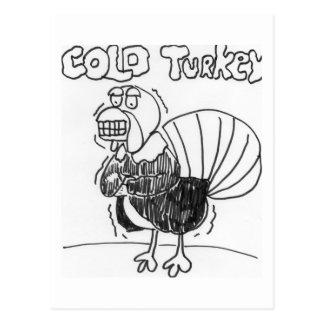 Cold Turkey Postcard