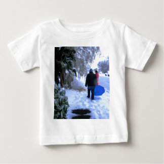 Cold Walk Home Baby T-Shirt