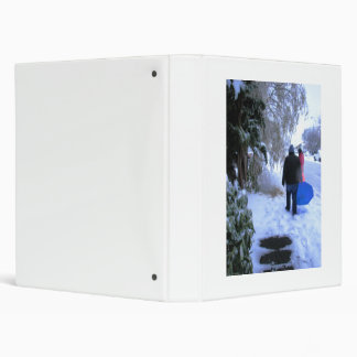 Cold Walk Home Binder