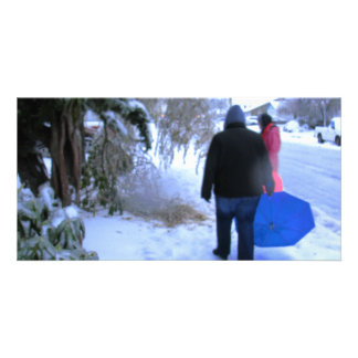 Cold Walk Home Card