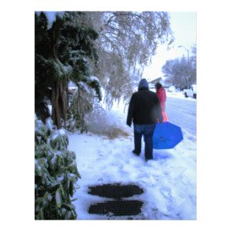 Cold Walk Home Letterhead