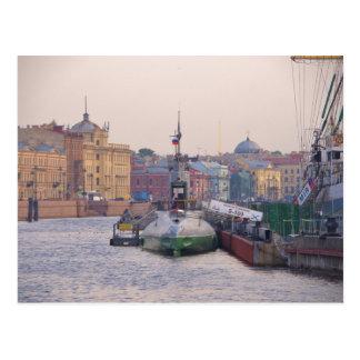 Cold War Submarine Postcard