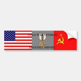 Cold War  Veteran Bumper Sticker Car Bumper Sticker