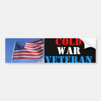 Cold War Veteran Car Bumper Sticker