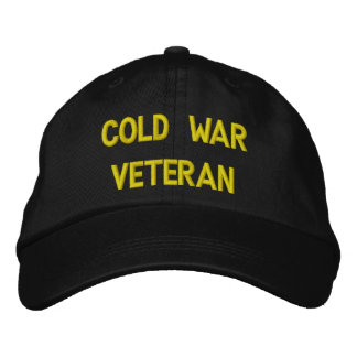 COLD WAR VETERAN EMBROIDERED BASEBALL CAPS