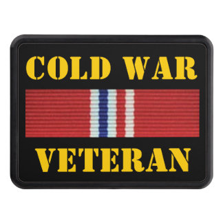 COLD WAR VETERAN TOW HITCH COVER
