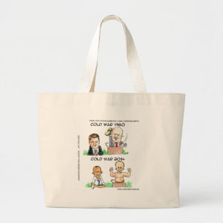 Cold Wars of 1960 And 2014 Funny Canvas Bag