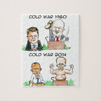 Cold Wars of 1960 And 2014 Funny Jigsaw Puzzle