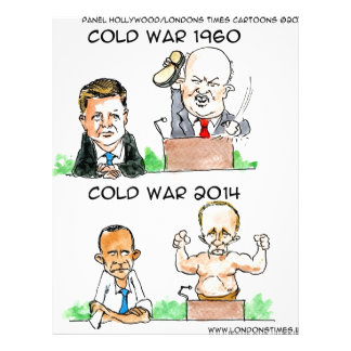 Cold Wars of 1960 And 2014 Funny Letterhead