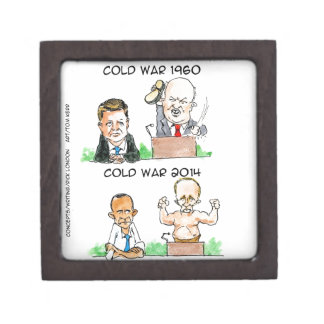 Cold Wars of 1960 And 2014 Funny Premium Gift Box