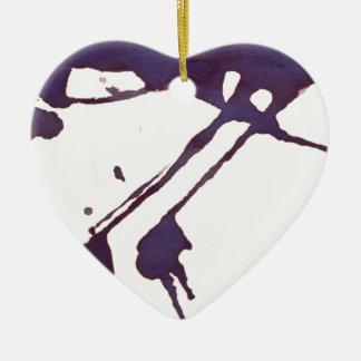 cold water-down ceramic ornament