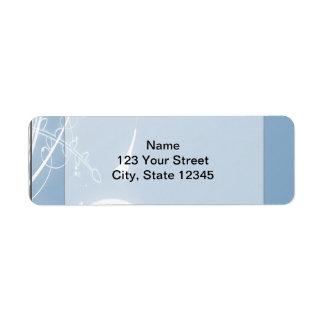 Cold Wind Return Address Label
