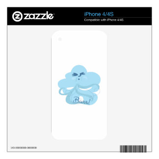 Cold Wind Decal For The iPhone 4S
