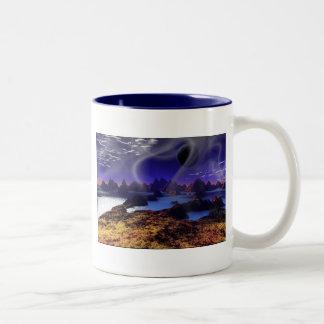 Cold Wind Two-Tone Coffee Mug