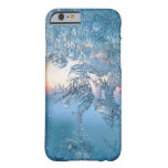 Cold Winter Frosted Glass Ice Crystals Barely There iPhone 6 Case