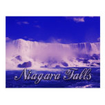 Cold Winter Mist at Niagara Falls Postcard