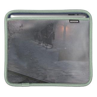 cold winter night iPad sleeves