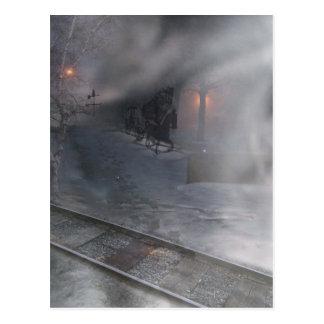 Cold Winter Night Postcard