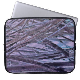 Cold Winter Willows Laptop Computer Sleeve