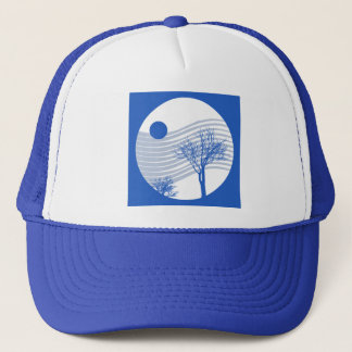 Cold Winter Wind Trucker Hat