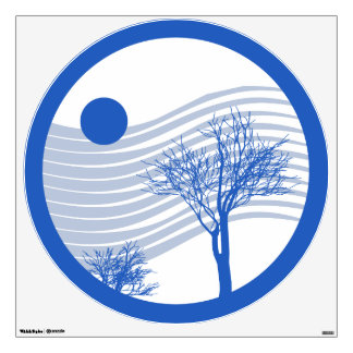 Cold Winter Wind Wall Decal