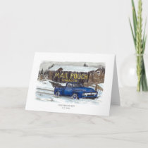 COLD WINTERS DAY HOLIDAY CARD