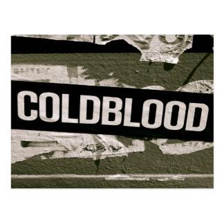 Coldblood Postcard